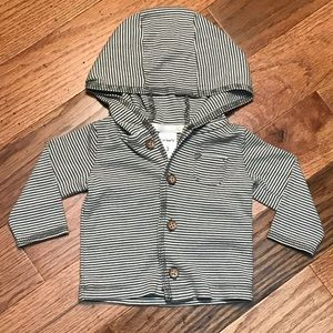 Carter's Grey and White Jacket